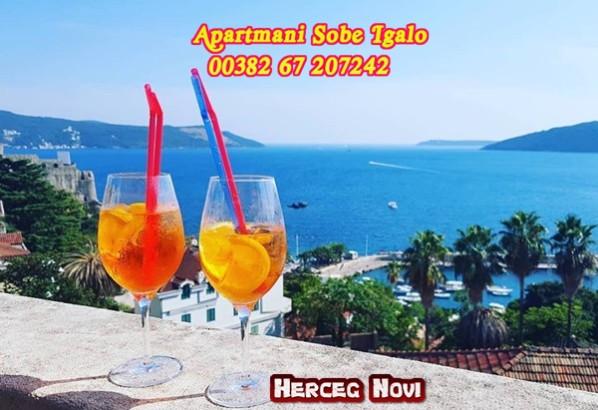 Sobe Apartmani Igalo, privatni smještaj u Igalu Crna Gora