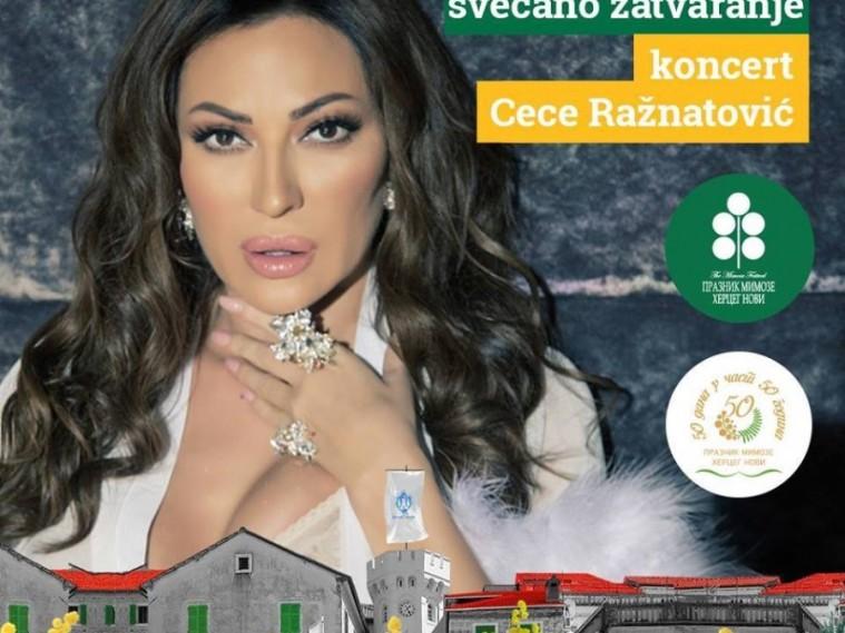 Svetlana Ceca Ražnatović 23. marta u Herceg Novom će održati koncert